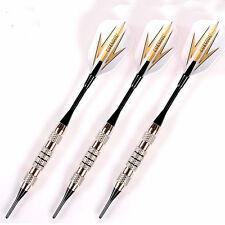 3x freccette professionali+custodia freccetta CUESOUL corpo ferro cromato 16g