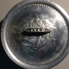Vintage ~ Everlast Forged Aluminum Bowl #1038 ~ With Peapod Lid #1038
