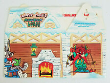 Arby's 1989 Kids Meal Box - Looney Tunes No. 8 Mountain Lodge