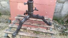 German ( Austrian) cast iron antique Christmas tree stand root, branch