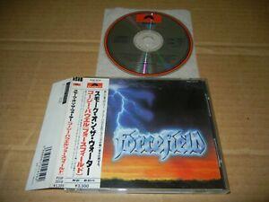 "Forcefield ""S/T"" JAPAN 1st press CD w/OBI P33P-20118 3300Yen Cozy Powell"