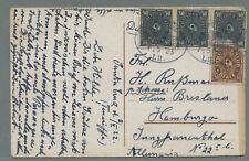 "Deutsche Seepost ""HAMBURG-SÜDAMERIKA  / L II."" 1923 ab Teneriffa > Hamburg"
