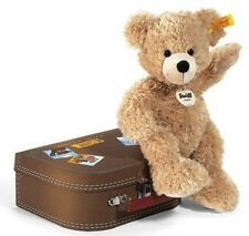 Plüschteddy Steiff Fynn Teddybär im Koffer 111471 Geschenk Baby Waschbar 28 cm