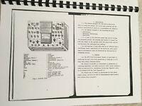 Kalibr L3-3 Electron Vacuum tube tester printed English Manuals + pdf file Cards