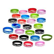 (25) Sobriety Gift Wristbands AA gifts Alcoholics Anonymous