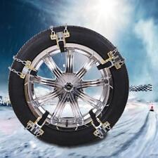 1PCS Universal Anti-skid Car Truck Steel Tire Chain Winter Snow Emergency Belt