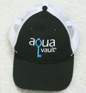 Otto Aqua Vault Baseball Hat Cap Polyester Cotton Adult One Size Snap Back Mesh