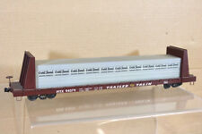 QUALITY CRAFT O SCALE TRAILER TRAIN TT PTTX FLAT WAGON & GOLD BOND LOAD nk