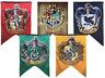 Harry Potter Hogwarts School House Banner Gryffindor, Slytherin, Ravenclaw Flag