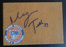 Morgan Tuck Signed Uconn Women'S Basketball Floor Tile Wnba Sun Free Shipping