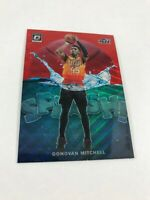 19-20 Panini Optic Splash Tmall Red Wave Prizm Donovan Mitchell Rare SP