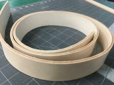 Leather Strip Natural Veg Tanned 8/9 Oz 1-1/2 Wide One and Half 1.5 Inch STRAP