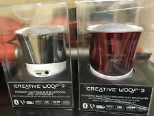 CREATIVE LABS-WOOF 3 powerful bluetooth speaker with MP3 player (new)