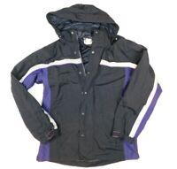 FedEx Stan Herman VF Imagewear Reflective Hooded Uniform Coat Jacket L FD3326