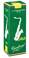 5 Vandoren Java Green Unfiled Tenor Sax Reeds 1.5 2 2.5 3 3.5 Free Del (inc box)