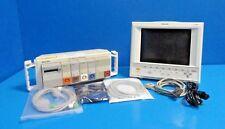 2003 Philips V24e Patient Care Monitor Nbp Ecg Spo2 Tco Print With Leads14537