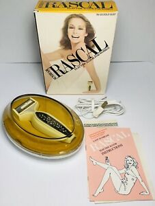 "Vintage Lady Sunbeam ""Rascal"" Electric Razor For Women w Box, Cord Case, Manual"