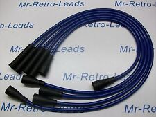 Azul 8MM rendimiento ignición conduce a la medida.. Ford Capri 1.6 2.0 OHC Cortina P100
