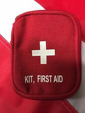 First Aid Kit small Red Rothco survival gear disaster kit bug out bag tactical