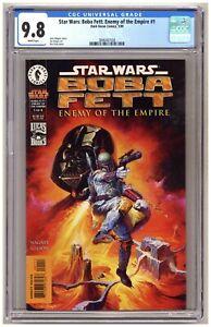 Star Wars: Boba Fett: Enemy of the Empire #1 (CGC 9.8) Dark Horse; 1999 B984