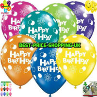 "12""-14"" HAPPY BIRTHDAY BALLOONS HELLIUM  & BALLONS QUALITY Party Wedding Baloons"