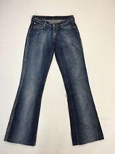 "Damen Levi 529 ""Bootcut"" Jeans-W27 L32-Faded Navy Wash-super Zustand"
