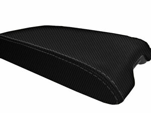 Infiniti G35 Coupe Console Armrest Lid Carbon Fiber for 2002-2007 Black