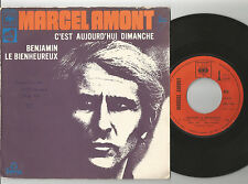 "MARCEL AMONT C'est Aujourd'hui 7"" Vinyl 45 1971 FRANCE RARE!        Ref C3"