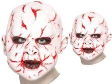 Scar Face Mask Horror Latex Realistic Fulll Overhead Mask Halloween Fancy Dress