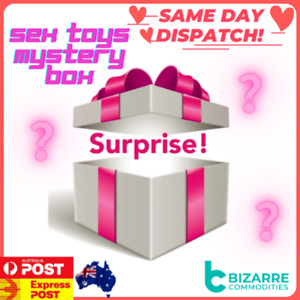 $60-90 RRP Mystery Box Set of Assorted sex toys Lucky Gift We pack them for u