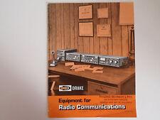 DRAKE GENERAL CATALOGUE ONLY..............RADIO_TRADER_IRELAND.