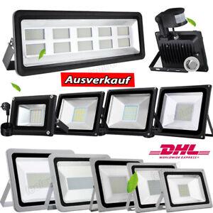 LED Fluter 20W 30W 50W 100W 200W 300W 500W Außen Strahler Scheinwerfer Flutlicht