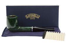 Savinelli Arcobaleno 111 Green Tobacco Pipe - Smooth