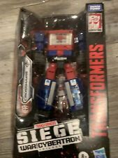 Hasbro Transformers Toys Generations War for Cybertron Titan WFC-S49 Crosshairs
