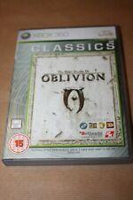 The Elder Scrolls IV: Oblivion-XBox 360 jeu avec des instructions & carte - 2005