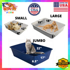 Cat Litter Box Small/Large/Extra Large XL Jumbo Giant Open Top Entry Enclosed