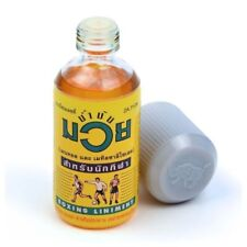 Namman Muay Thai Boxing Oil Liniment Muscular Pain 120cc Bottle free shipping
