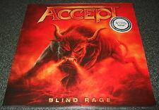 ACCEPT-BLIND RAGE-2014 2xLP GOLDEN VINYL-100 ONLY-UDO/IRON MAIDEN-NEW