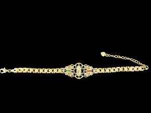 Gold Plated Virgin Mary Butterfly Bracelet Virgen De Guadalupe Pulsera