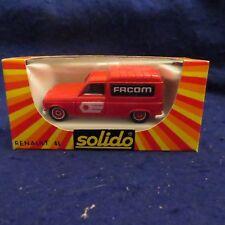Solido No.1330 Renault Facom Truck Red NIB MINT SEE PICS!!!