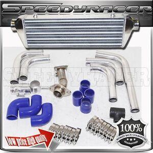 Intercooler+ Piping+downpipes for Honda Civic 06-11EX Coupe 2D/Sedan 4D 1.8L
