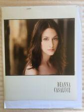 Deanna Casaluce, original vintage headshot photo with credits training