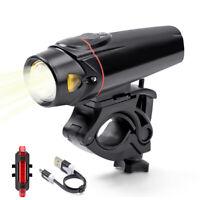 USB Ricaricabile LED Luci per Biciclette Tre modalità luce Impermeabile
