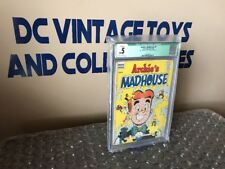 Archie's Madhouse #1 CGC .5 Qualified  Off-White To White Pages FRESHLY GRADED