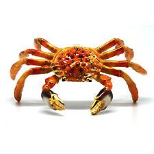 Crab Jewelled Trinket Box or Figurine