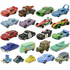 Diecast Disney Pixar Cars3 Collectiable Frank Lizzie Flo 1:55 Metal Kids Toy