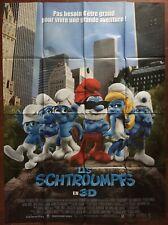 Affiche LES SCHTROUMPFS The Smurfs RAJA GOSNELL Chambre d'Enfant  120x160cm b