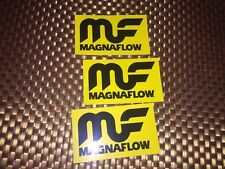 "MF Magnaflow RACING DECALS STICKER 4x2.4 INCH ""FREE SHIPPING"" offroad"