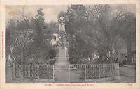 ÉPINAL VOSGES FRANCE~le MONUMENT COMMEMORATIF de 1870~VISE POSTCARD