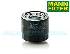 Mann Hummel Repuesto de Calidad OE Filtro de Aceite Del Motor W 811/80